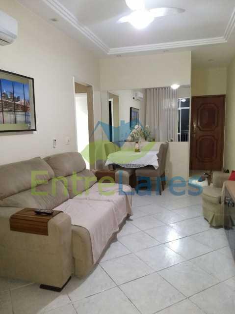 4 - Apartamento no Cacuia 2 quartos, varanda, dependência completa, 2 vagas de garagem. Estrada da Bica. - ILAP20335 - 4