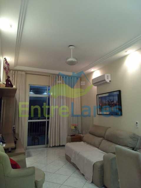6 - Apartamento no Cacuia 2 quartos, varanda, dependência completa, 2 vagas de garagem. Estrada da Bica. - ILAP20335 - 6