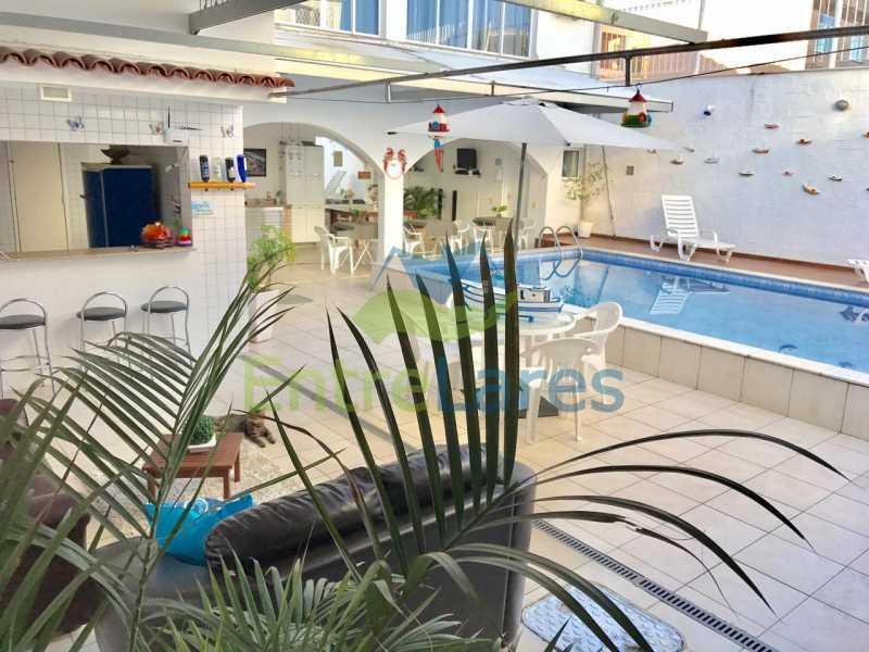 15 - Pousada no Moneró com 8 suítes, piscina, bar, churrasqueira, 5 vagas. Imóvel e negócio. - ILHT80001 - 7