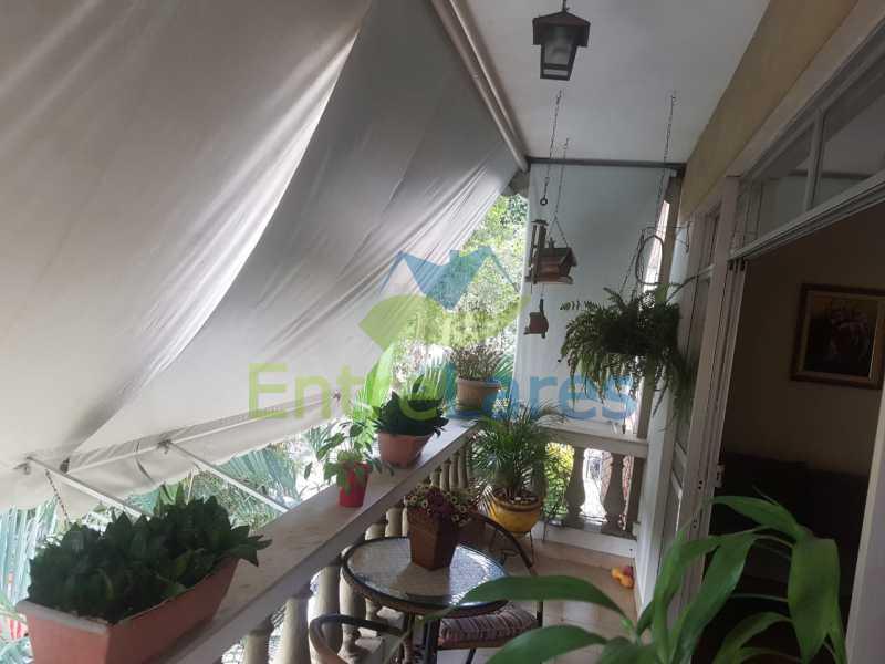 01. - Apartamento na Ribeira 2 quartos, varanda, dependência, 1 vaga de garagem. Rua Maldonado - ILAP20350 - 1