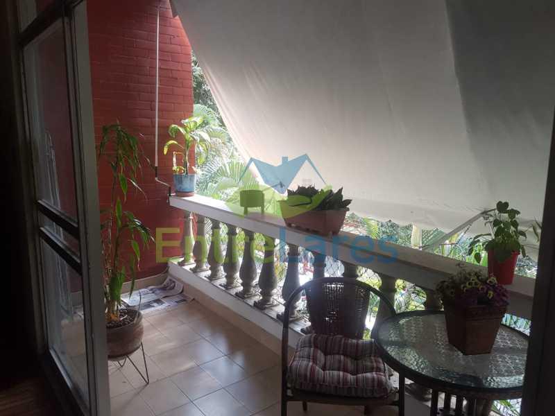02. - Apartamento na Ribeira 2 quartos, varanda, dependência, 1 vaga de garagem. Rua Maldonado - ILAP20350 - 3