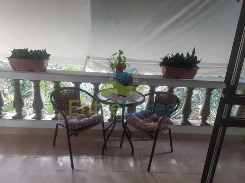 03. - Apartamento na Ribeira 2 quartos, varanda, dependência, 1 vaga de garagem. Rua Maldonado - ILAP20350 - 4