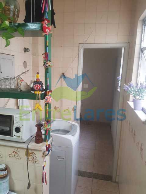 17. - Apartamento na Ribeira 2 quartos, varanda, dependência, 1 vaga de garagem. Rua Maldonado - ILAP20350 - 19
