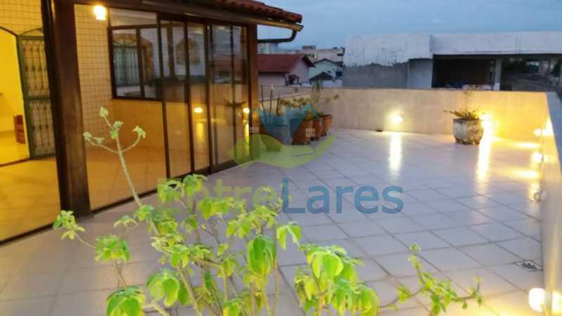 5 - Apartamento tipo casa no Moneró 4 quartos sendo 2 suítes com closet, 4 vagas de garagem. Estrada Governador Chagas Freitas - ILAP40045 - 1