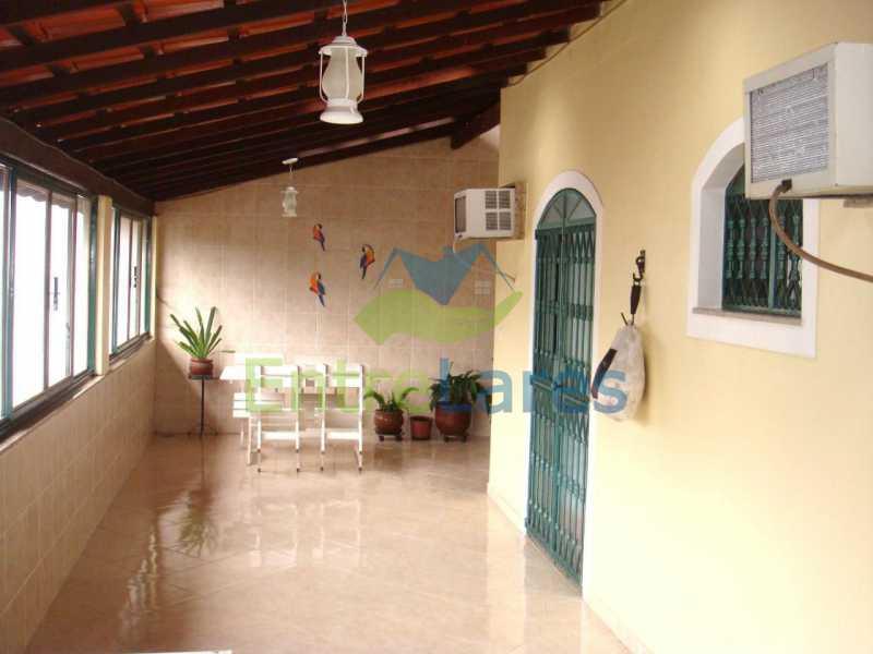 7 - Apartamento tipo casa no Moneró 4 quartos sendo 2 suítes com closet, 4 vagas de garagem. Estrada Governador Chagas Freitas - ILAP40045 - 5