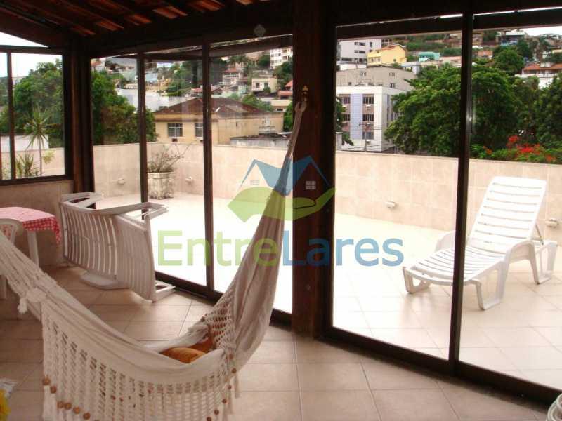 7b - Apartamento tipo casa no Moneró 4 quartos sendo 2 suítes com closet, 4 vagas de garagem. Estrada Governador Chagas Freitas - ILAP40045 - 3