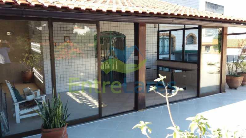 7d - Apartamento tipo casa no Moneró 4 quartos sendo 2 suítes com closet, 4 vagas de garagem. Estrada Governador Chagas Freitas - ILAP40045 - 8