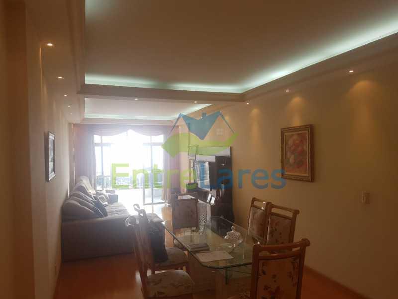 04. - Apartamento na Ribeira 3 quartos planejados sendo 1 suíte, copa cozinha planejada, dependência completa. 2 vagas de garagem. Rua Paramopama - ILAP30222 - 5