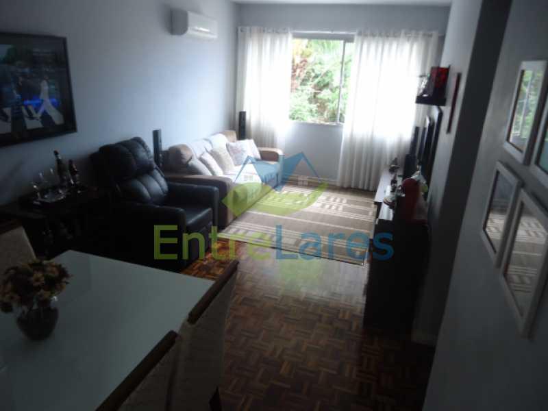 1 - Apartamento na Ribeira 2 quartos planejados, área de serviço, dependência revertida em escritório. Uma vaga de garagem. Rua Serrão. - ILAP20358 - 1