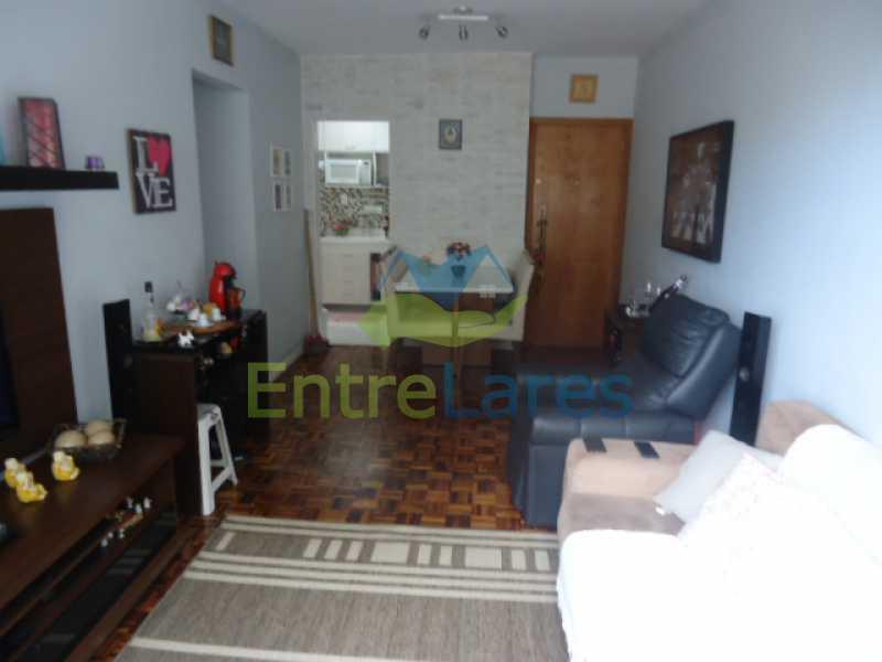 02 - Apartamento na Ribeira 2 quartos planejados, área de serviço, dependência revertida em escritório. Uma vaga de garagem. Rua Serrão. - ILAP20358 - 3