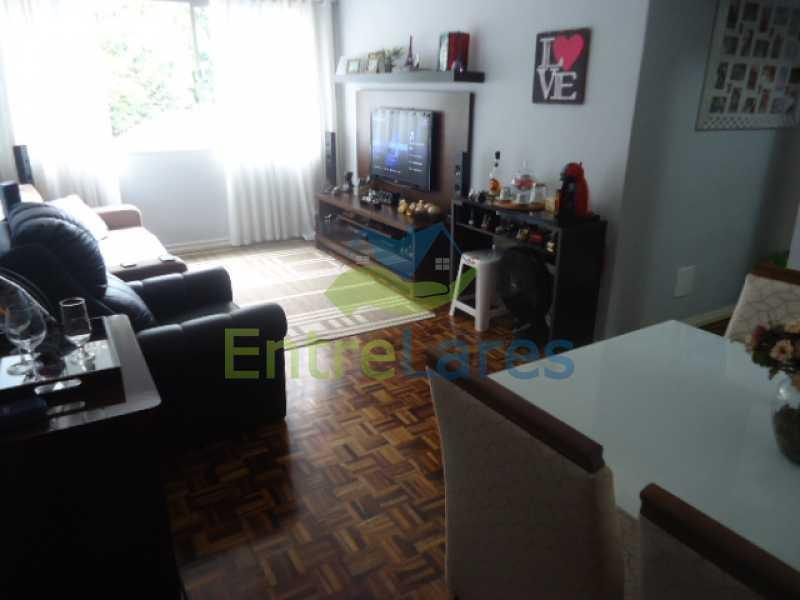 03 - Apartamento na Ribeira 2 quartos planejados, área de serviço, dependência revertida em escritório. Uma vaga de garagem. Rua Serrão. - ILAP20358 - 4