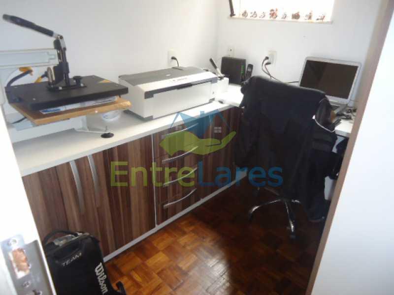 08 - Apartamento na Ribeira 2 quartos planejados, área de serviço, dependência revertida em escritório. Uma vaga de garagem. Rua Serrão. - ILAP20358 - 9