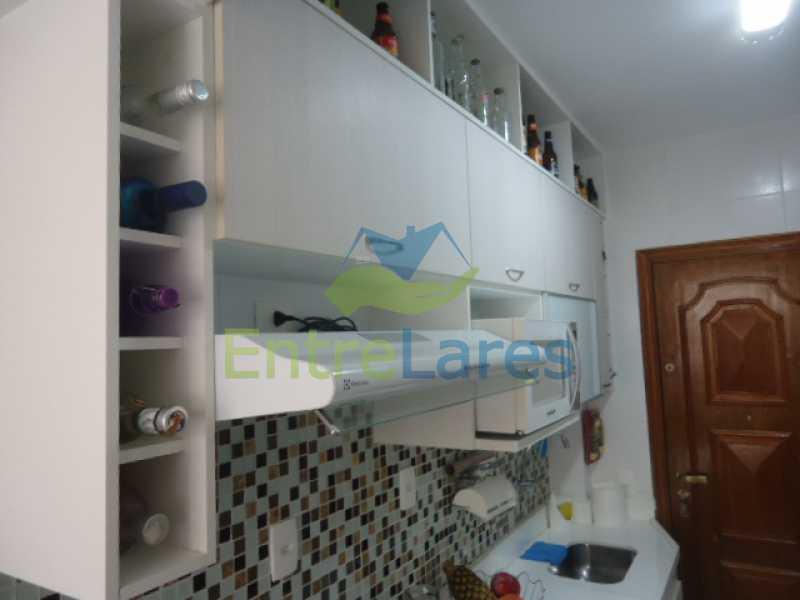 11 - Apartamento na Ribeira 2 quartos planejados, área de serviço, dependência revertida em escritório. Uma vaga de garagem. Rua Serrão. - ILAP20358 - 12