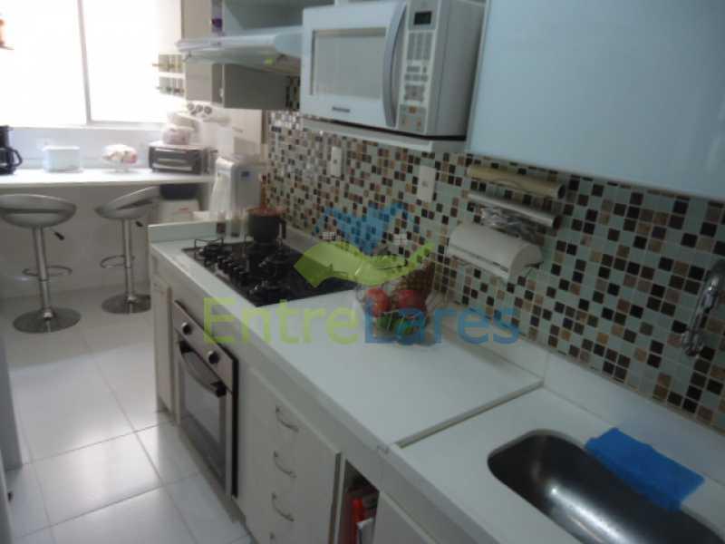 14 2 - Apartamento na Ribeira 2 quartos planejados, área de serviço, dependência revertida em escritório. Uma vaga de garagem. Rua Serrão. - ILAP20358 - 15