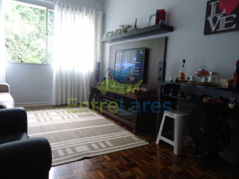 17 - Apartamento na Ribeira 2 quartos planejados, área de serviço, dependência revertida em escritório. Uma vaga de garagem. Rua Serrão. - ILAP20358 - 18