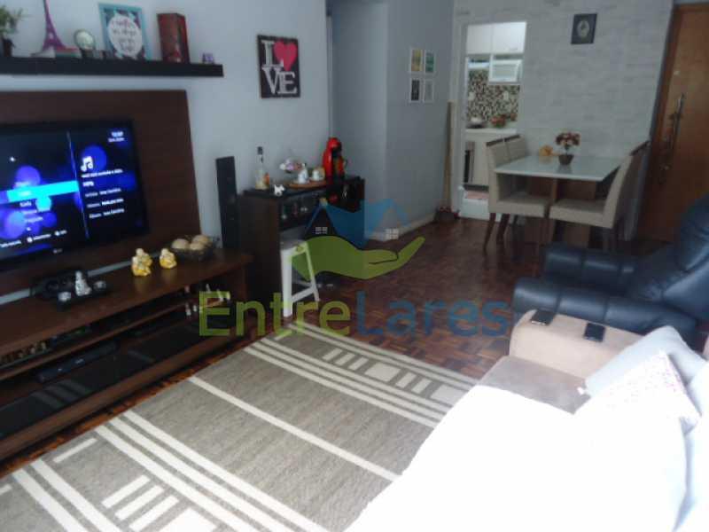 20 - Apartamento na Ribeira 2 quartos planejados, área de serviço, dependência revertida em escritório. Uma vaga de garagem. Rua Serrão. - ILAP20358 - 21