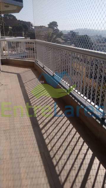 8. - Apartamento na Praia da Bandeira 2 quartos sendo 1 suíte, cozinha planejada, dependência completa, 1 vaga de garagem. Rua Maciel Monteiro - ILAP20361 - 4