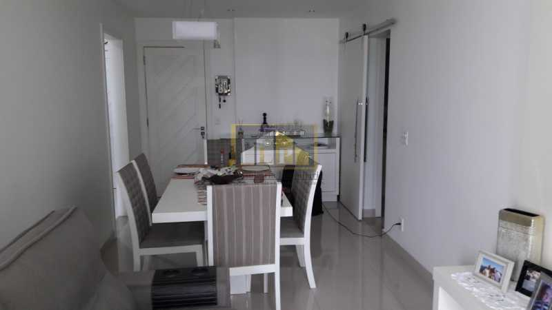APBARRA - Apartamento Condomínio PARQUE DAS ROSAS, Avenida Marechal Henrique Lott,Barra da Tijuca, Rio de Janeiro, RJ À Venda, 1 Quarto, 70m² - LPAP10204 - 4