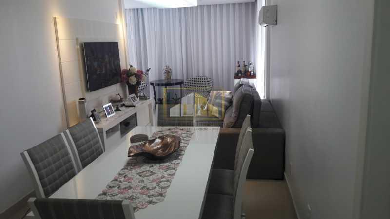 APBARRA1 - Apartamento Condomínio PARQUE DAS ROSAS, Avenida Marechal Henrique Lott,Barra da Tijuca, Rio de Janeiro, RJ À Venda, 1 Quarto, 70m² - LPAP10204 - 1