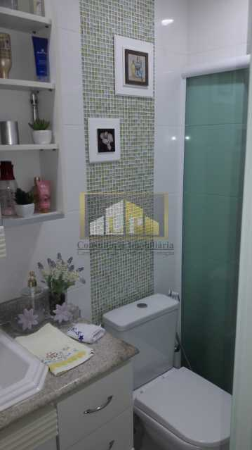 APBARRA7 - Apartamento Condomínio PARQUE DAS ROSAS, Avenida Marechal Henrique Lott,Barra da Tijuca, Rio de Janeiro, RJ À Venda, 1 Quarto, 70m² - LPAP10204 - 9