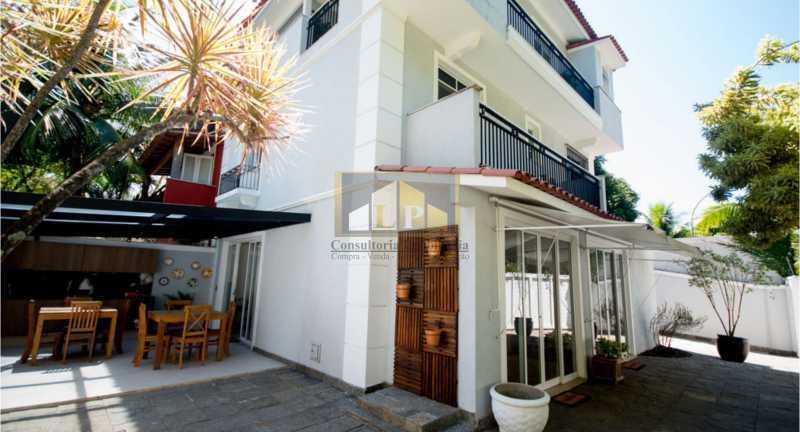 Casa da Barra Esquina -05 - Casa em Condominio Condomínio LIBERTY HOUSE, Avenida Ministro Afrânio Costa,Barra da Tijuca,Rio de Janeiro,RJ À Venda,5 Quartos,255m² - LPCN50019 - 1
