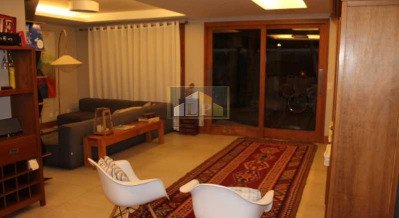 Casa Vermelha -11 - Casa em Condominio Condomínio LIBERTY HOUSE, Avenida Ministro Afrânio Costa,Barra da Tijuca,Rio de Janeiro,RJ À Venda,5 Quartos,245m² - LPCN50020 - 1