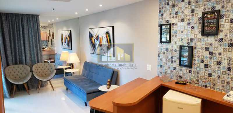 662815003017267 - Apartamento Condomínio GRAN NOBILE, Avenida Lúcio Costa,Barra da Tijuca, Rio de Janeiro, RJ À Venda, 1 Quarto, 52m² - LPAP10217 - 4