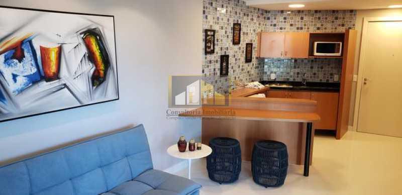 662815009364902 - Apartamento Condomínio GRAN NOBILE, Avenida Lúcio Costa,Barra da Tijuca, Rio de Janeiro, RJ À Venda, 1 Quarto, 52m² - LPAP10217 - 5