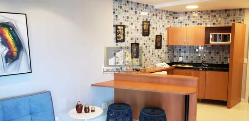 663815000556888 - Apartamento Condomínio GRAN NOBILE, Avenida Lúcio Costa,Barra da Tijuca, Rio de Janeiro, RJ À Venda, 1 Quarto, 52m² - LPAP10217 - 8