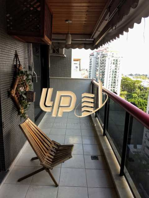 05 - Apartamento Condomínio ABM, Barra da Tijuca, Rio de Janeiro, RJ À Venda, 4 Quartos, 130m² - LPAP40116 - 6
