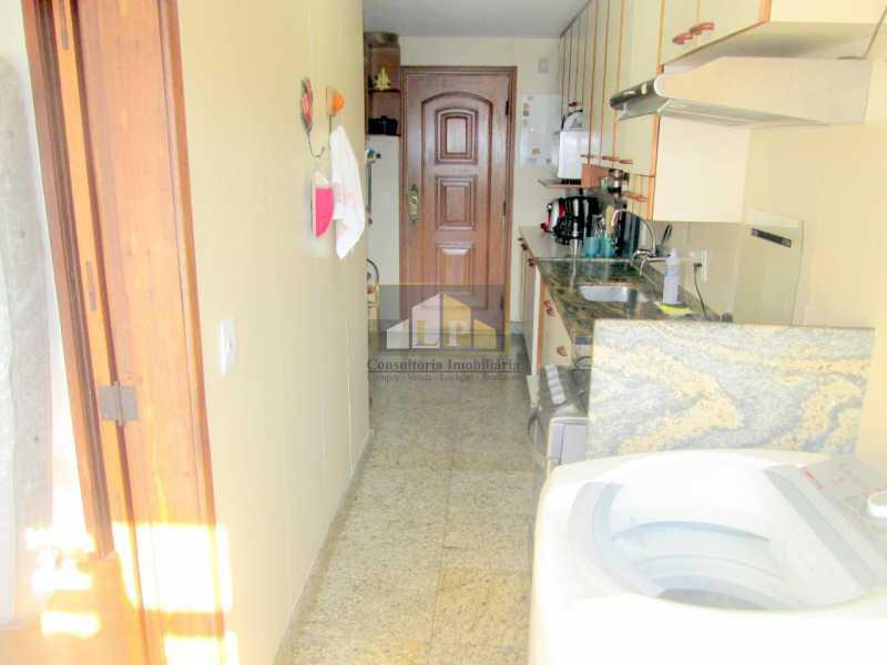 IMG-20190312-WA0060 - Apartamento Condomínio ABM, Rua Jornalista Henrique Cordeiro,Barra da Tijuca, Rio de Janeiro, RJ À Venda, 4 Quartos, 140m² - LPAP40119 - 15
