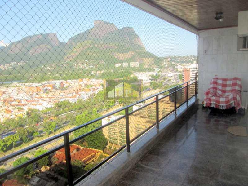 IMG-20190312-WA0067 - Apartamento Condomínio ABM, Rua Jornalista Henrique Cordeiro,Barra da Tijuca, Rio de Janeiro, RJ À Venda, 4 Quartos, 140m² - LPAP40119 - 1