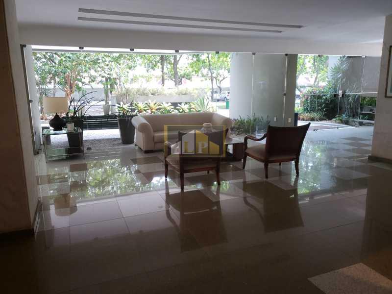 RECEPCAO EDIF BERNINI - Apartamento Para Alugar no Condomínio NOVA IPANEMA - Barra da Tijuca - Rio de Janeiro - RJ - LPAP30351 - 6