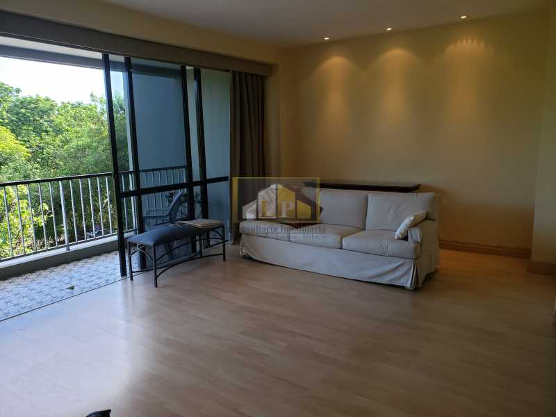 SALA 5 - Apartamento Condomínio NOVA IPANEMA, Barra da Tijuca,Rio de Janeiro,RJ Para Alugar,3 Quartos,160m² - LPAP30351 - 1