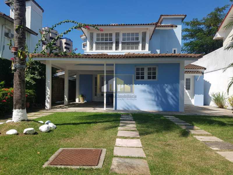 PHOTO-2019-08-05-15-35-54 - Casa em Condominio Condomínio RESIDENCIAL SANTA MONICA, Rua Josué de Castro,Barra da Tijuca,Rio de Janeiro,RJ Para Alugar,4 Quartos,370m² - LPCN40032 - 1