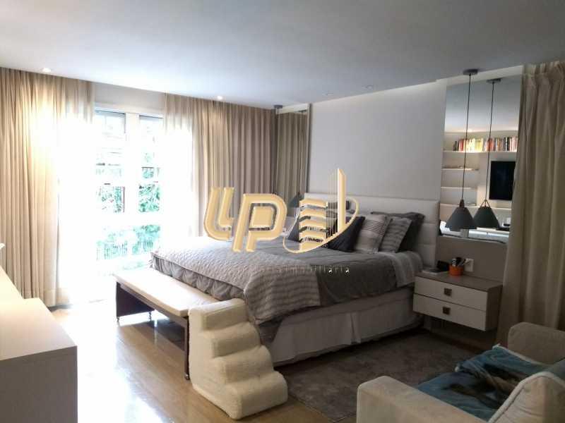 Suíte master - Casa em Condomínio 4 quartos à venda Itanhangá, Rio de Janeiro - R$ 4.200.000 - LPCN40039 - 4