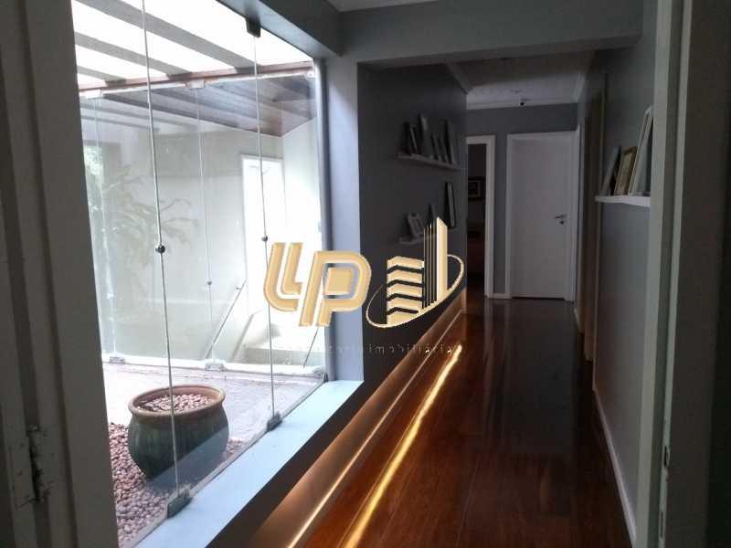 Corredor - Casa em Condomínio 4 quartos à venda Itanhangá, Rio de Janeiro - R$ 4.200.000 - LPCN40039 - 8