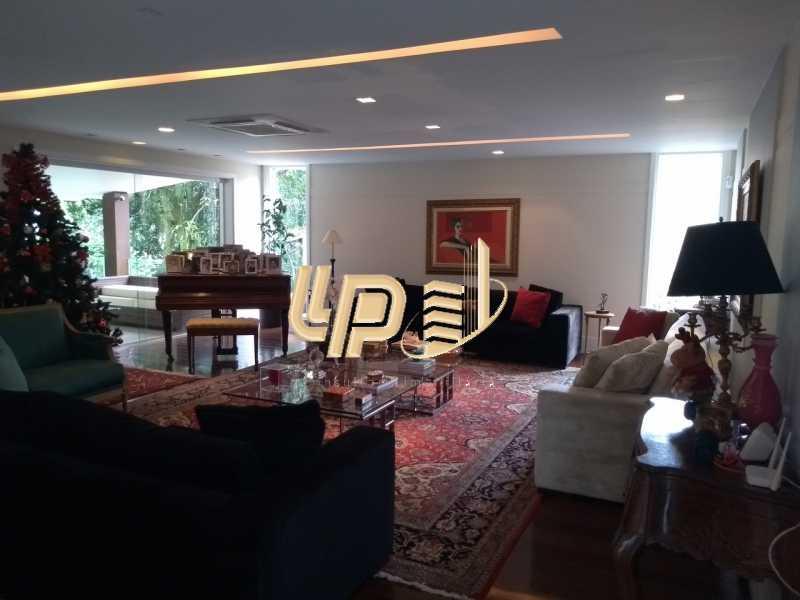 Sala de estar - Casa em Condomínio 4 quartos à venda Itanhangá, Rio de Janeiro - R$ 4.200.000 - LPCN40039 - 20