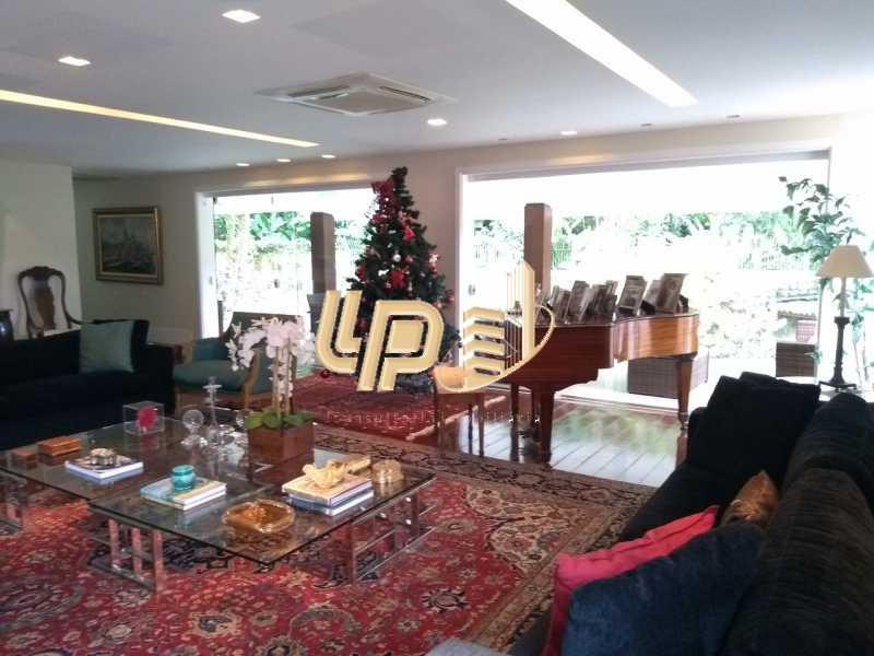 Sala de estar - Casa em Condomínio 4 quartos à venda Itanhangá, Rio de Janeiro - R$ 4.200.000 - LPCN40039 - 21