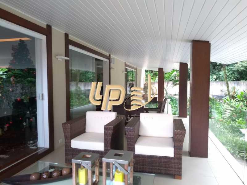 Varanda - Casa em Condomínio 4 quartos à venda Itanhangá, Rio de Janeiro - R$ 4.200.000 - LPCN40039 - 23
