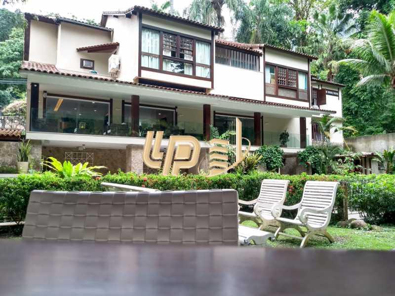 Fundos - Casa em Condomínio 4 quartos à venda Itanhangá, Rio de Janeiro - R$ 4.200.000 - LPCN40039 - 1
