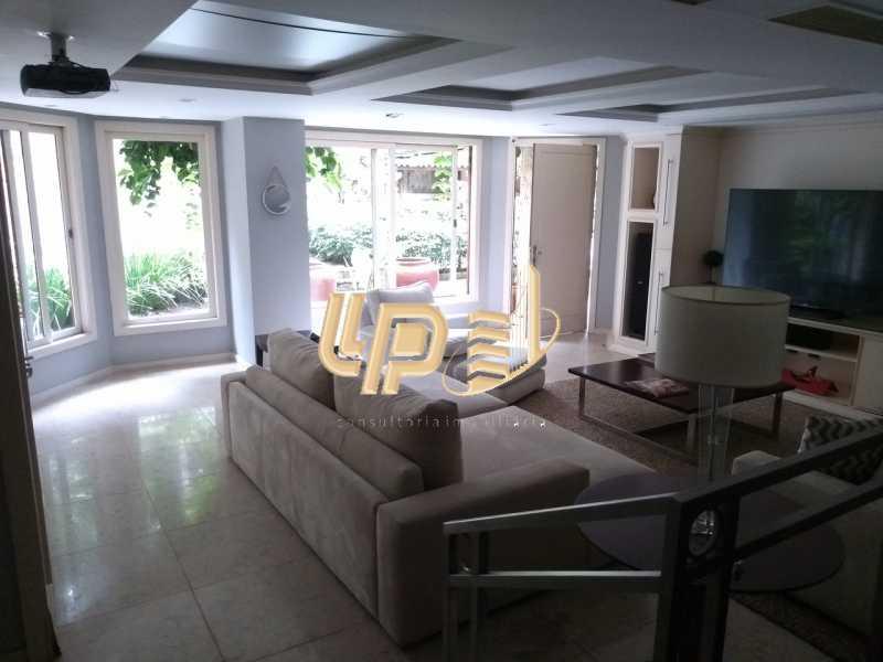 Sala de vídeo - Casa em Condomínio 4 quartos à venda Itanhangá, Rio de Janeiro - R$ 4.200.000 - LPCN40039 - 28
