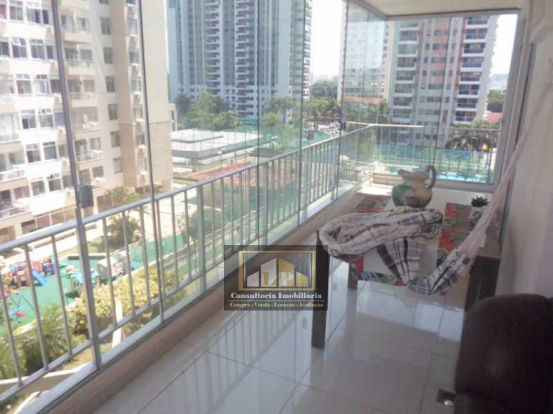 SAM_6409 - Apartamento imovel a venda no Parque das Rosas, Rosa Viva na Barra da Tijuca. - LPAP30068 - 1