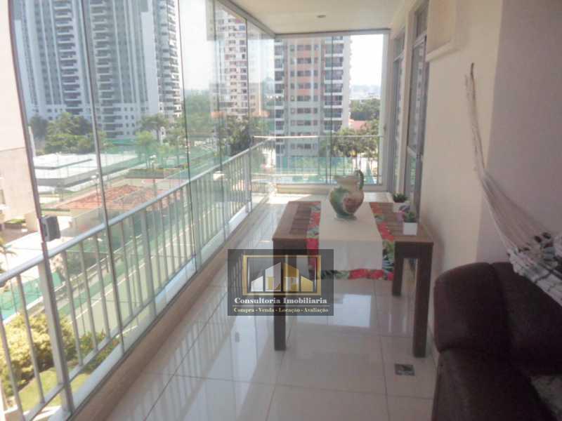 SAM_6410 - Apartamento imovel a venda no Parque das Rosas, Rosa Viva na Barra da Tijuca. - LPAP30068 - 3