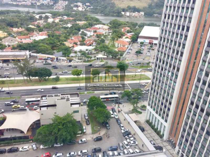 848610096951961 - Sala Comercial À Venda no Condomínio OFFICE TOWER - Barra da Tijuca - Rio de Janeiro - RJ - LPSL00014 - 4
