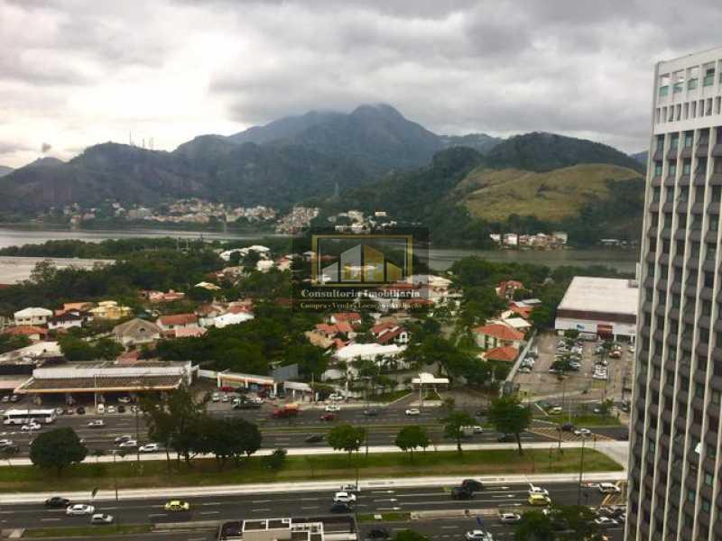 848610097490212 - Sala Comercial À Venda no Condomínio OFFICE TOWER - Barra da Tijuca - Rio de Janeiro - RJ - LPSL00014 - 1