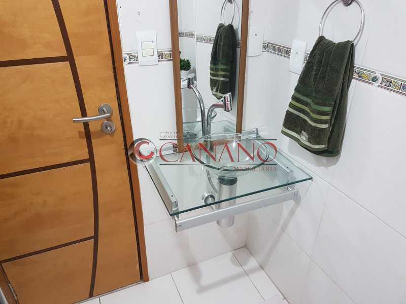 Banheiro Social 03 porta e pia - Apartamento À VENDA, Méier, Rio de Janeiro, RJ - GCAP21391 - 10
