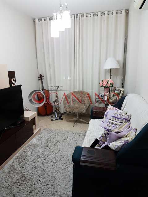 Sala 1 instrumentos e cortina - Apartamento À VENDA, Méier, Rio de Janeiro, RJ - GCAP21391 - 1