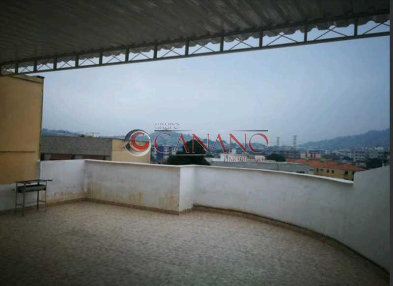 terraço - Apartamento à venda Travessa da Generosidade,Vila da Penha, Rio de Janeiro - R$ 318.000 - GCAP21448 - 21