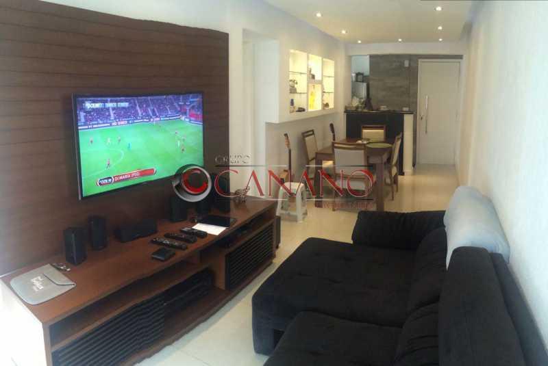 2 - Apartamento à venda Rua Barão de Itapagipe,Rio Comprido, Rio de Janeiro - R$ 530.000 - GCAP30547 - 1